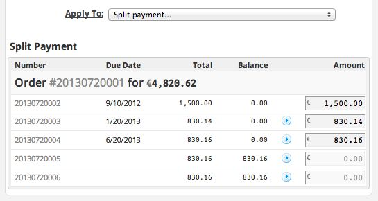 Release 2012.10 - Order Revisions, Invoice Numbering, Split ...