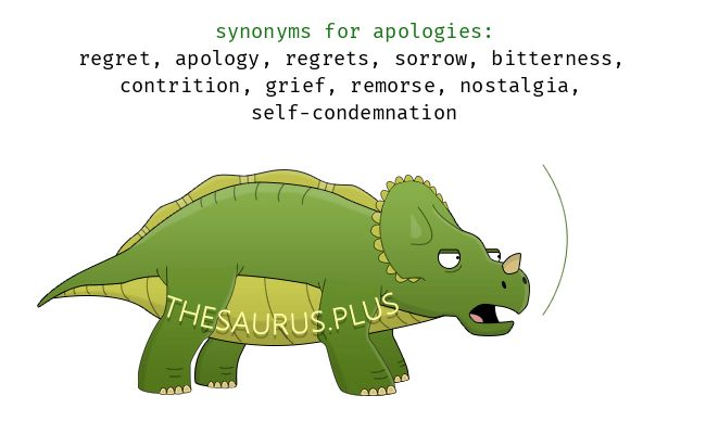 Words Apologies and Complaint have opposite meaning