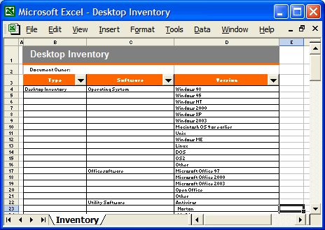 Disaster Recovery Templates (32 page MS Word & 12 Excel spreadsheets )