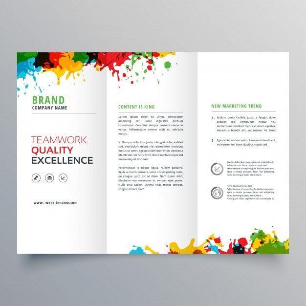 Free printable tri fold brochure templates - formats.csat.co