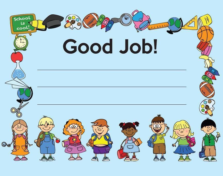 FREE Printable - Good Job Certificate | Back-to-School Must Haves ...