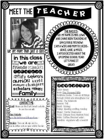 Best 25+ Parent newsletter template ideas on Pinterest | Teacher ...