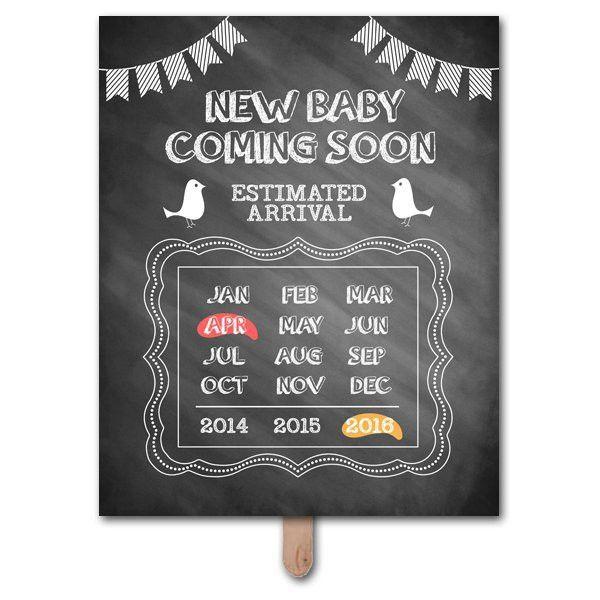 Pregnancy Announcement Template | Template Design