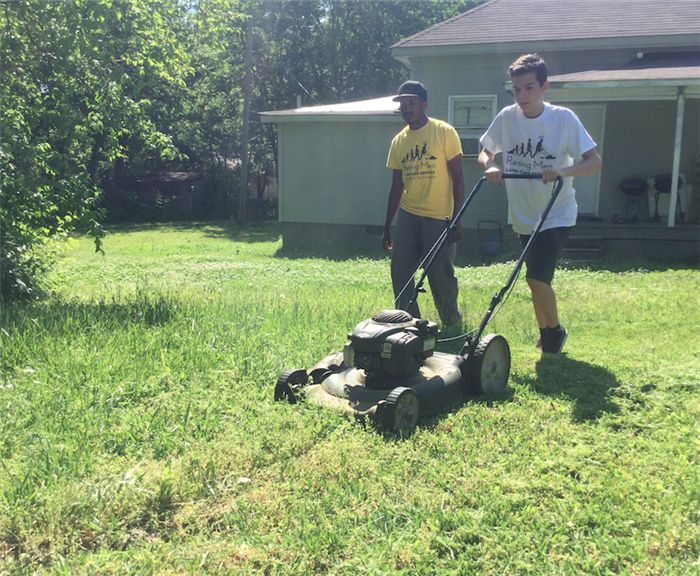Raising Men Lawn Care Service changes the landscape of charity ...