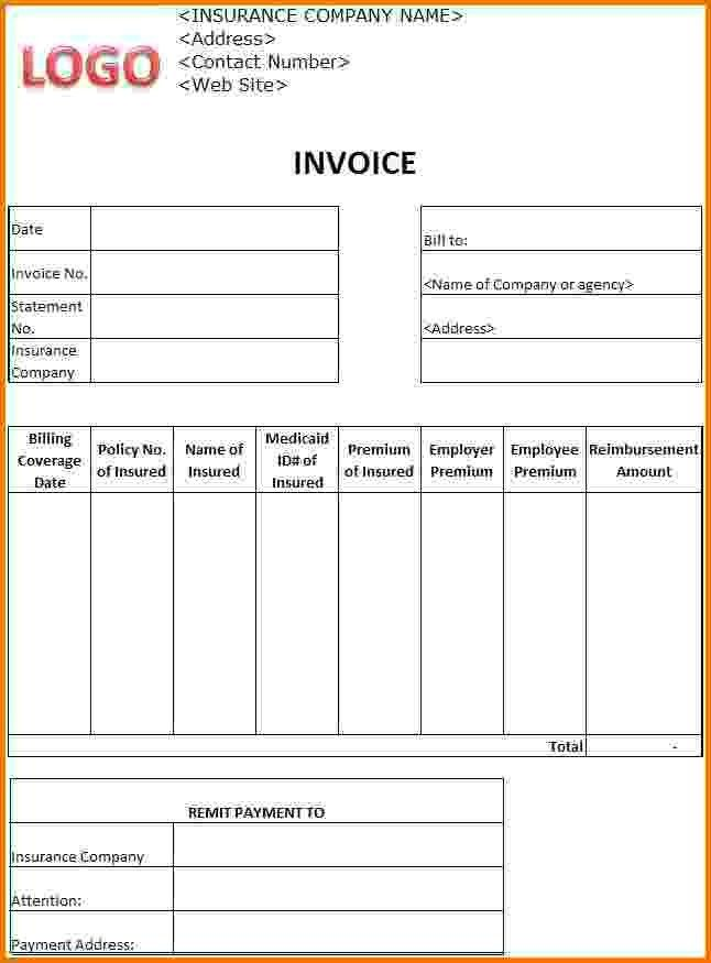 Download Medical Invoice Template Doc | rabitah.net