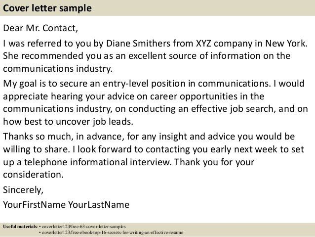cover letter format referral. find this pin and more on free ...