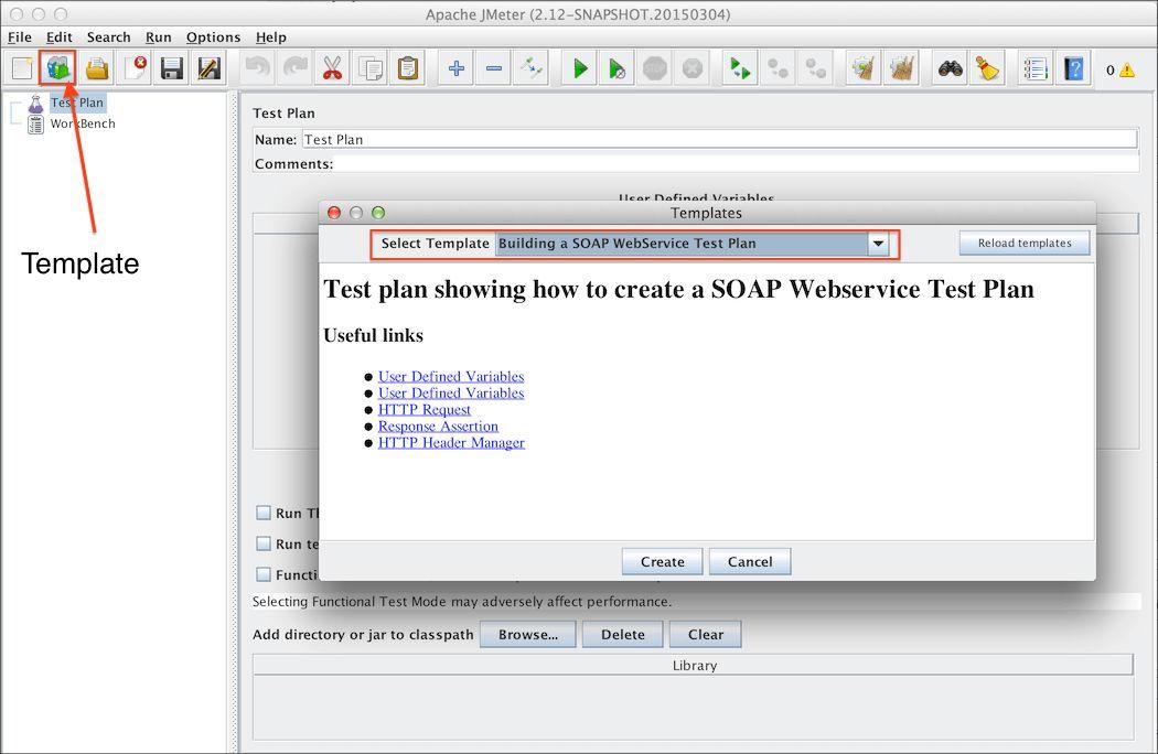 Apache JMeter - User's Manual: Building a SOAP WebService Test Plan
