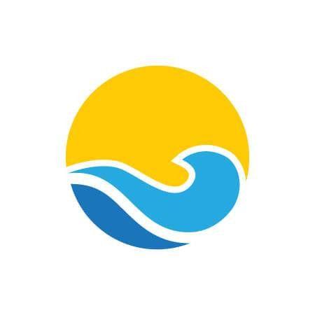 professional Beach Resort Logo Template for $10