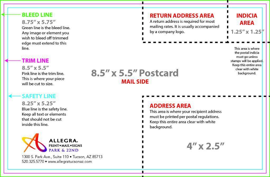 Artwork Templates - Allegra Print Mail Signs
