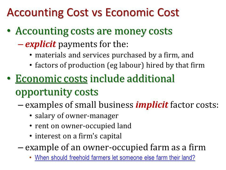 Level 5 Economics: The Theory of the Firm Learning Outcome Three ...