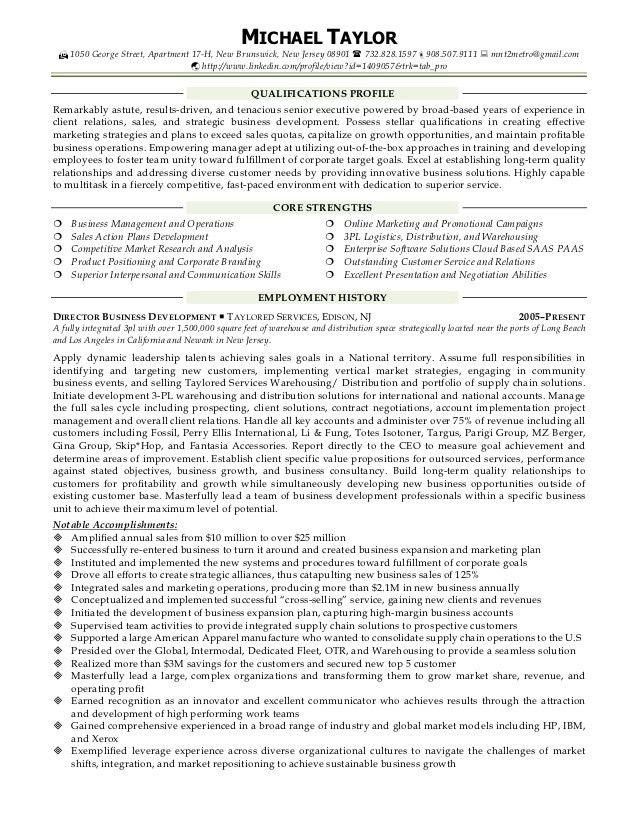 Michael Taylor Resume Sales, Business Development,Account Management …