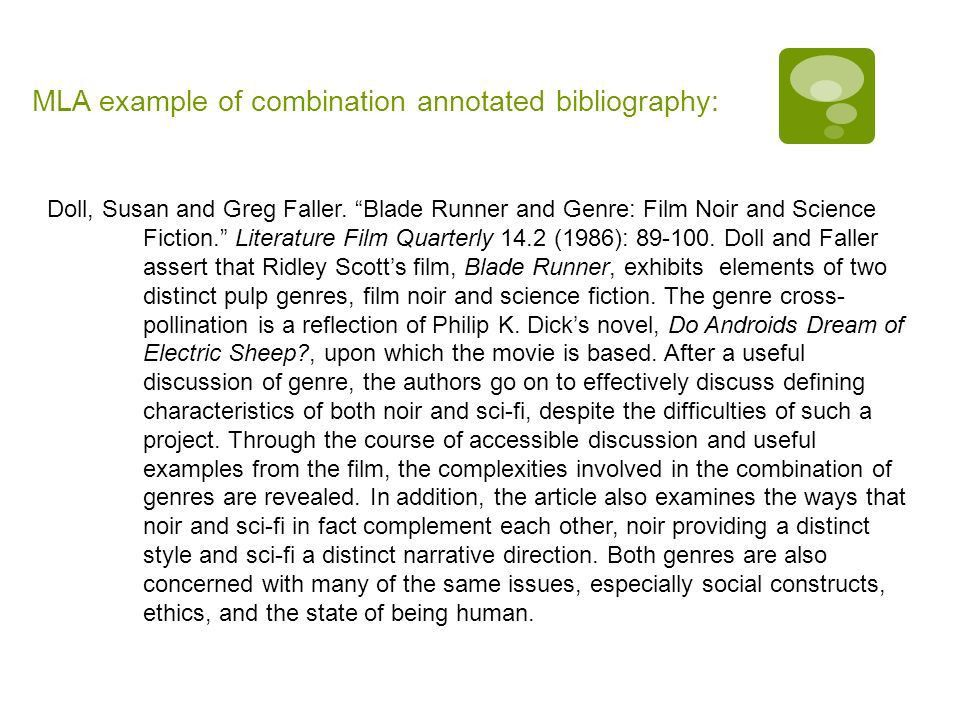 Annotated Bibliography English 12 Writing. What is it?  An ...