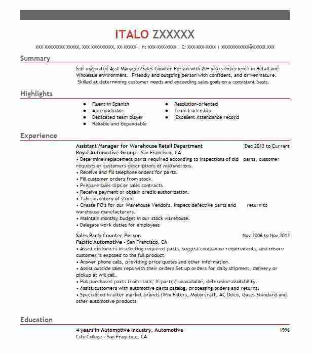Automotive Resume Templates to Impress Any Employer | LiveCareer
