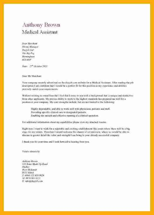 Cover letter samples for doctors