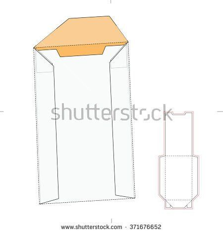 Chinese Fast Food Box Die Cut Stock Vector 192318014 - Shutterstock