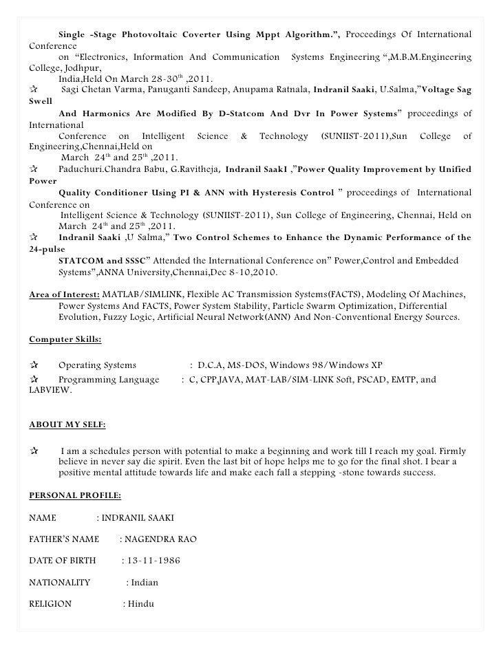 Indranil saaki resume
