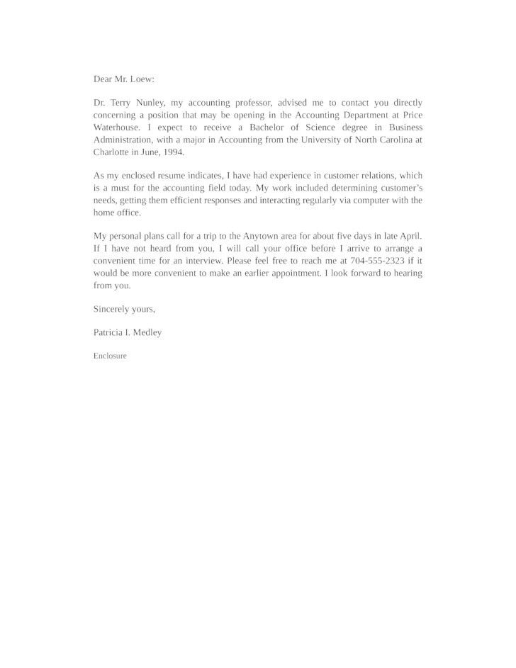Entry Level Accounting Cover Letter | Template Design