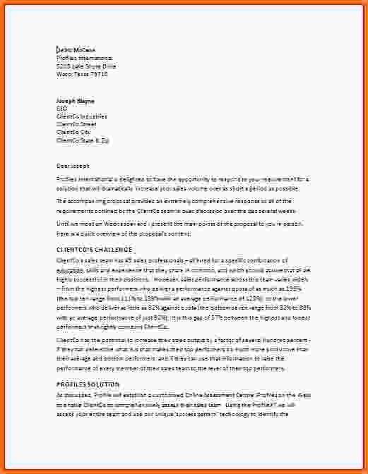 Business Proposal Format.Proposal.jpg - LetterHead Template Sample