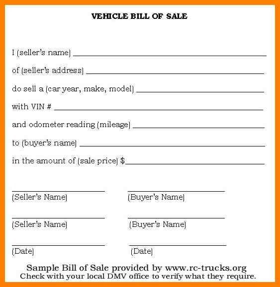 9+ generic auto bill of sale | artist resumes