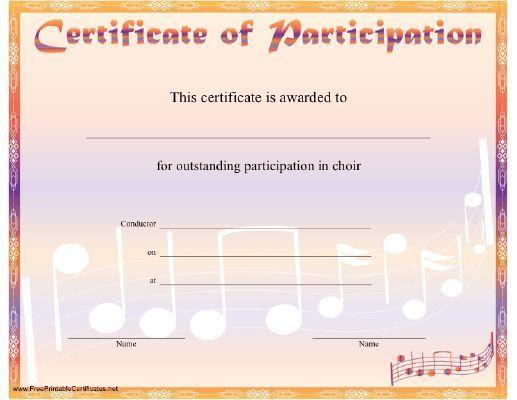 Blank Certificate Of Attendance [Template.billybullock.us ]