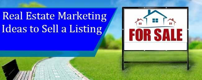 Real Estate Marketing Ideas to Sell a Listing - EdConstable.com