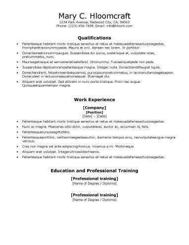 Crafty Ats Friendly Resume 10 Optimizing Formatting Resume For ...