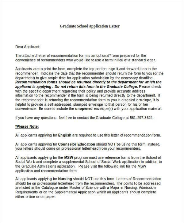 Application Letters. Scholarship Application Letter For University ...
