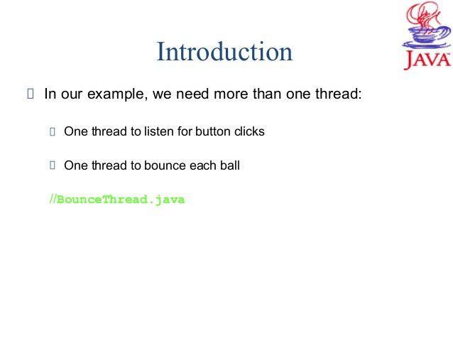 java threads