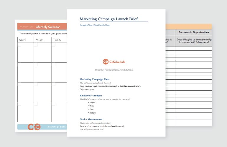 The Marketing Campaign Planning Checklist That Will Get You Proactive