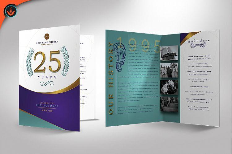 Regal Church Anniversary Program Photos | Design Bundles