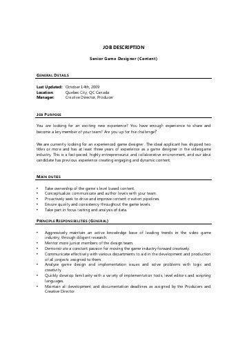 flash animator 3d artist job description template by baytcom ...