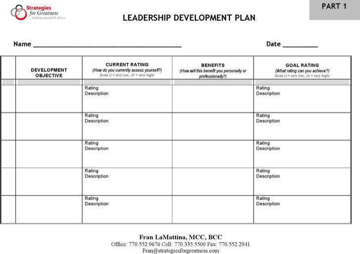 Free personal development plan template sample personal development plan templates download free premium templates pronofoot35fo Gallery