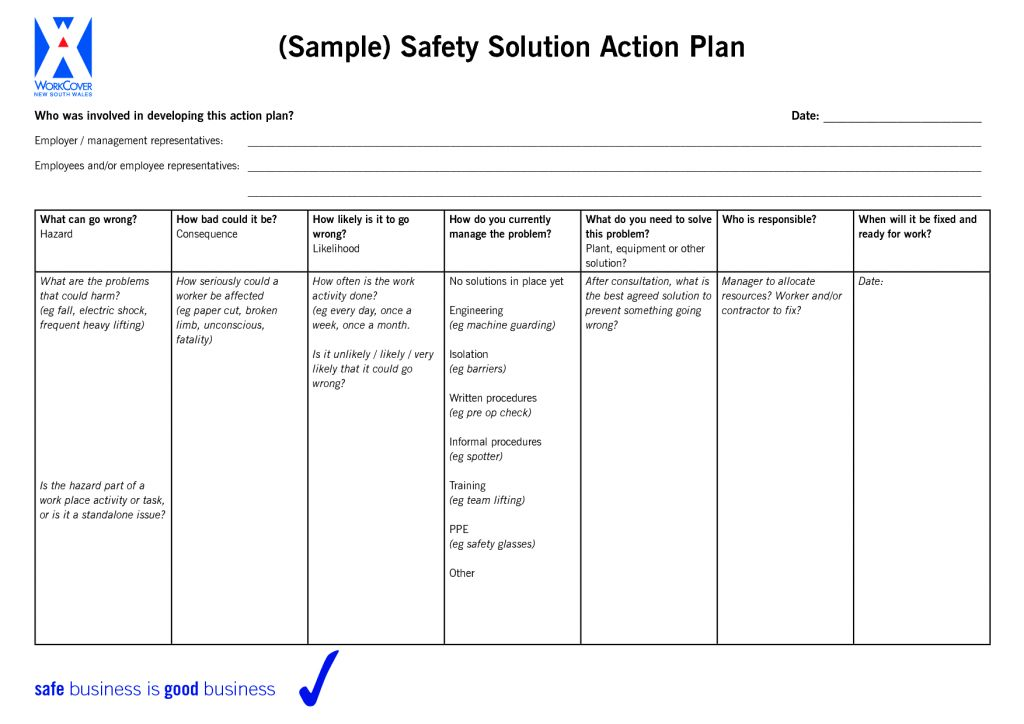 Development Action Plan Template Free Medical Powerpoint Draft Top ...