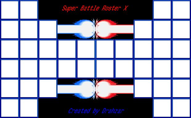 Super Battle Roster X Template by LordDrahzar on DeviantArt