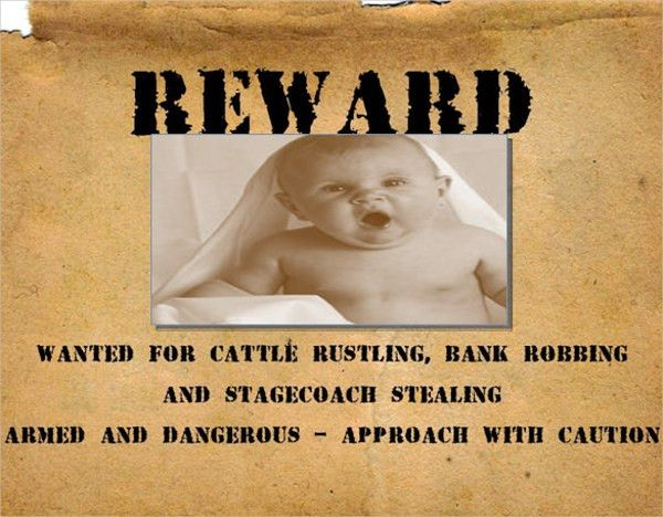 15+ Wanted Poster Templates - Free Sample, Example, Format | Free ...
