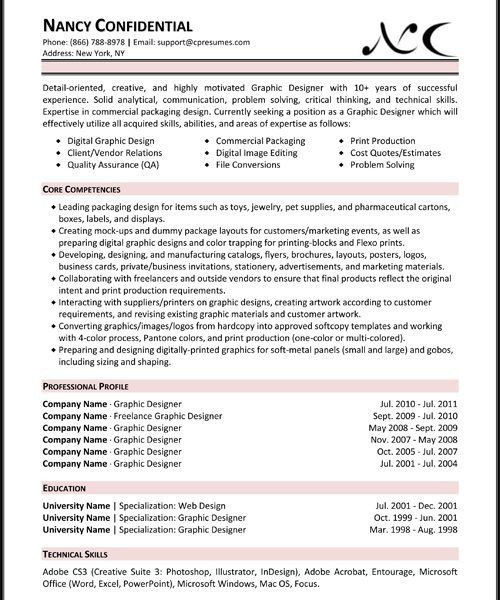 Skill Resume Template. Skills Based Resume Template Word - Sample ...