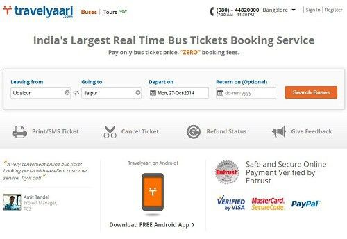 Best Websites to Book Bus Tickets Online in India