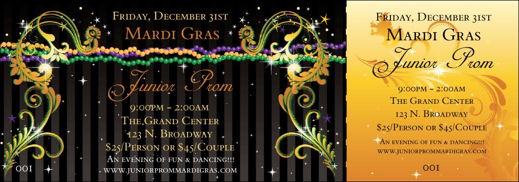 Gras Beads General Admission Ticket