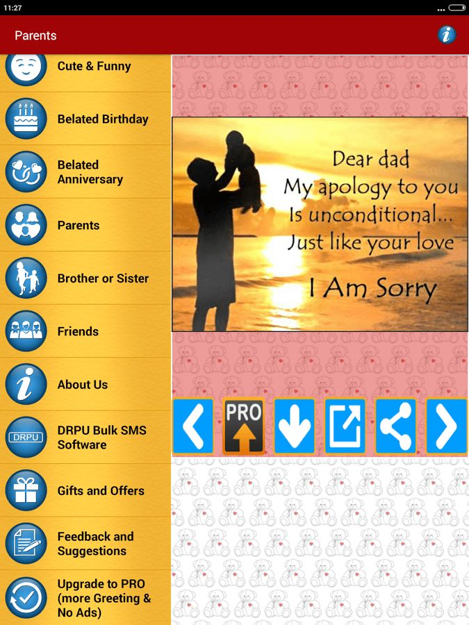 Sorry Cards & Picture Messages - Android Apps on Google Play