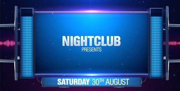 Night Club Promo by Motionkof   VideoHive