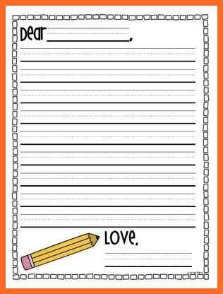 letter writing template | soap format