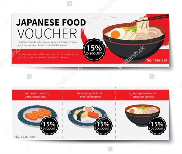 Meal Voucher Template – 10+ Free Printable, PDF Documents Download ...