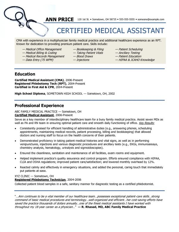 Patient Services Assistant Cover Letter