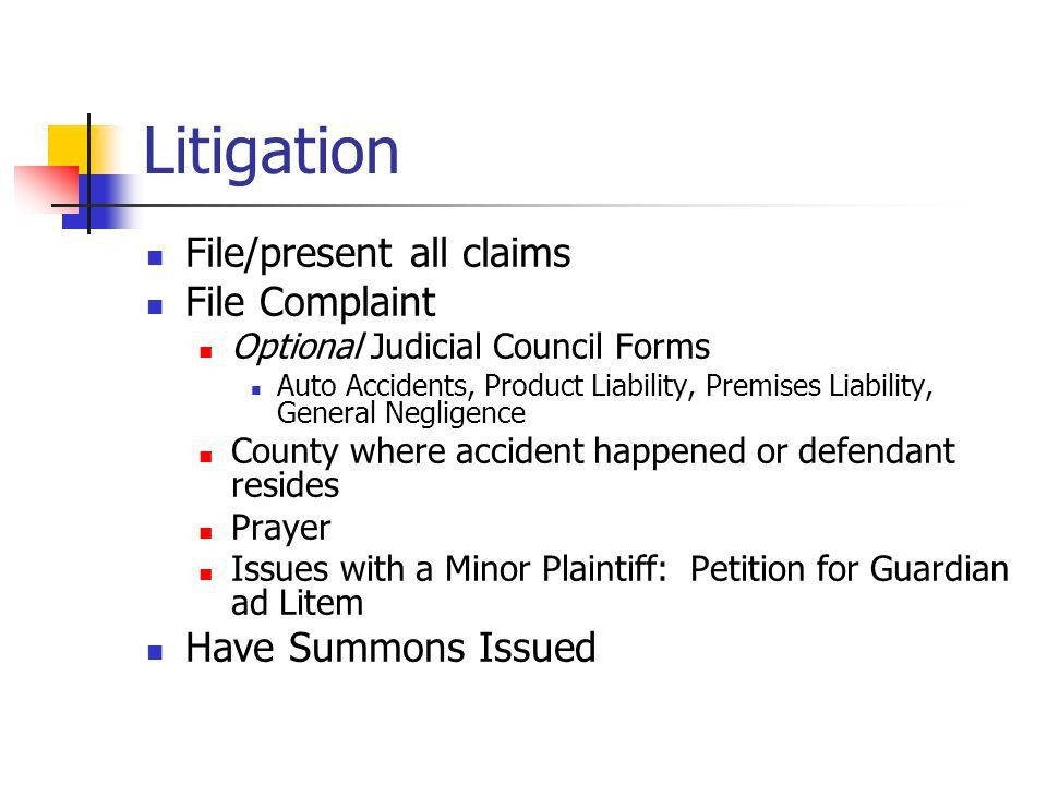 """Handling the P.I. Case Attorney's Role. The P.I. Case No """"cappers ..."""