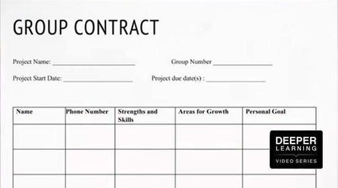Student Group Contracts Facilitate Better Collaboration (Deeper ...