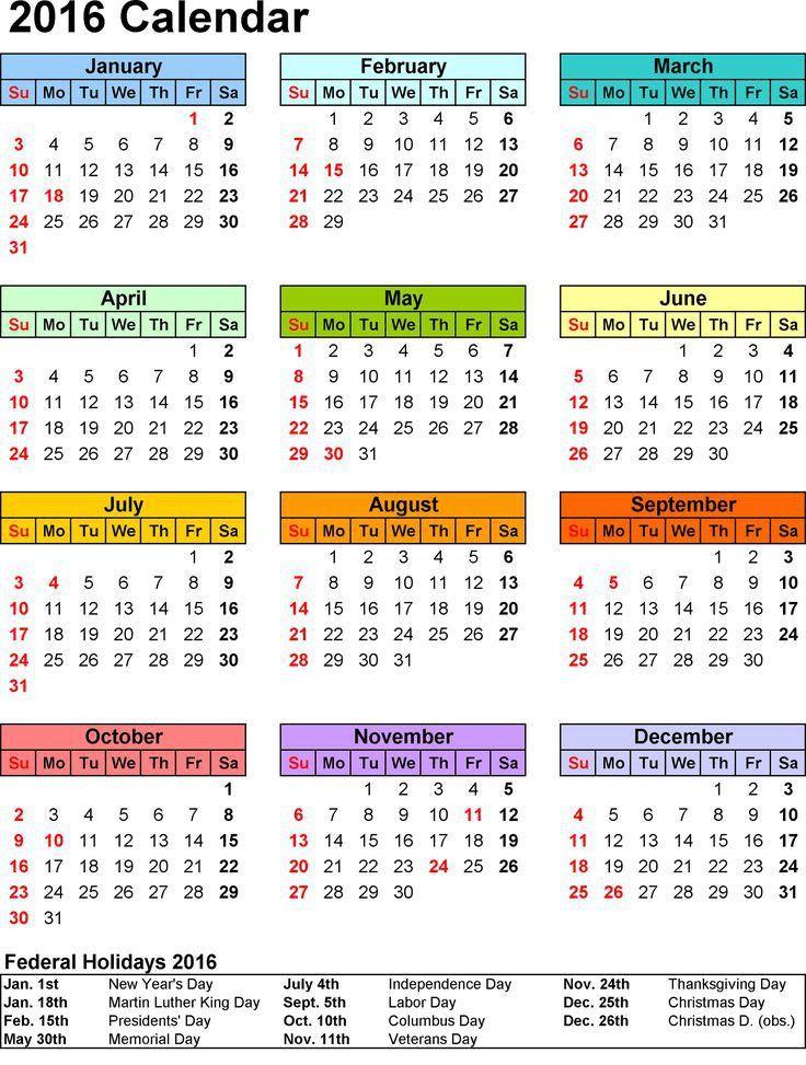 66 best Calendar Template Printable images on Pinterest | Calendar ...