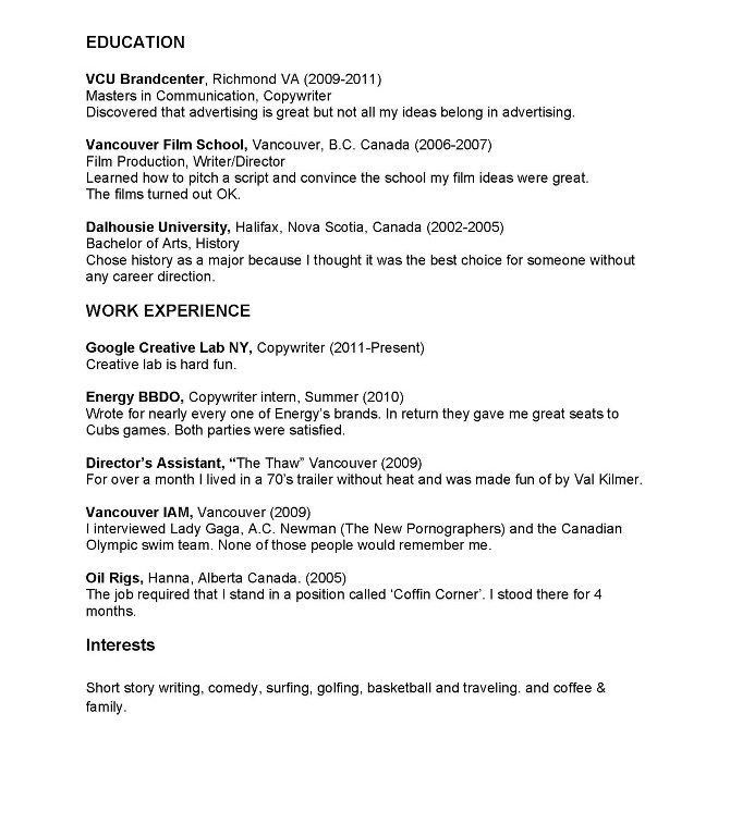 Download Copy Of A Resume | haadyaooverbayresort.com