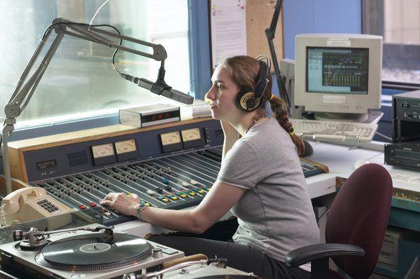 Job Description for a Radio Station Intern - Woman