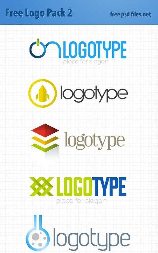 20+ Pixel-Perfect Free Logo Templates