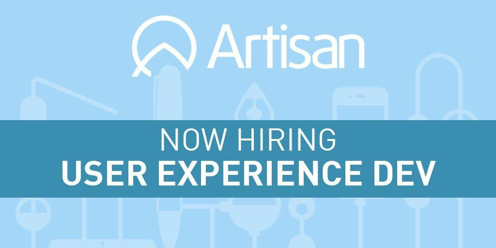 UX Developer Job Description - Artisan Talent